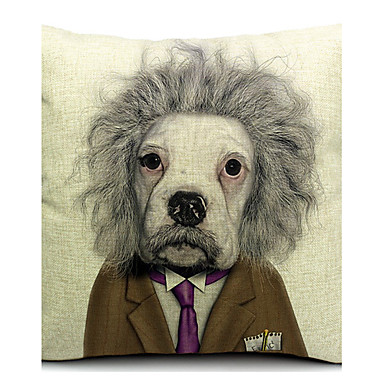 Buy Cartoon Cool Dog Cotton/Linen Decorative Pillow Cover