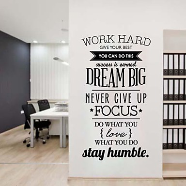 Attractive Wall Stickers. Words ...