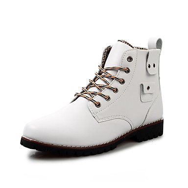 Zapatos de hombre botas exterior oficina y trabajo for Zapatos de trabajo blancos