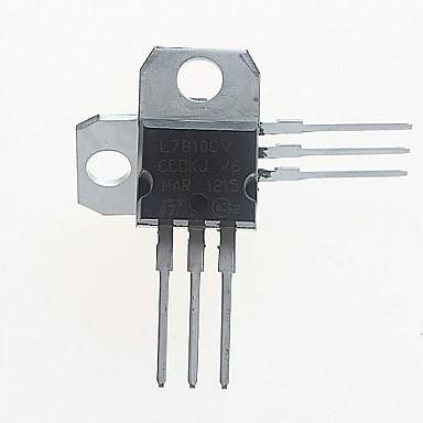 Buy L7810CV Voltage Regulator 10V/1.5A TO-220 (5pcs)