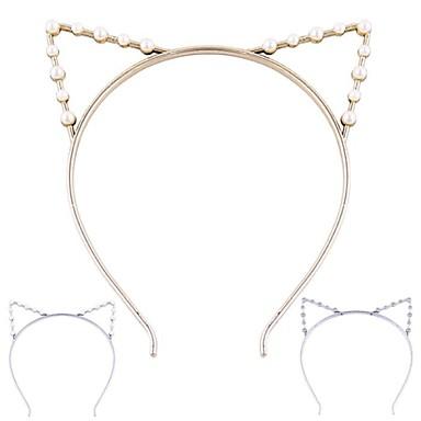 (1 Pc)Sweet Cat Ears Headbands for Women(Hualuo Jewelry)