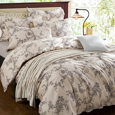 Fadfay 2014 New Western Style Floral Print Bedding Sets