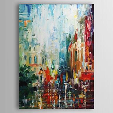 Peint la main abstrait un panneau toile peinture l 39 huile hang peint for d coration d for Grand tableau contemporain pas cher