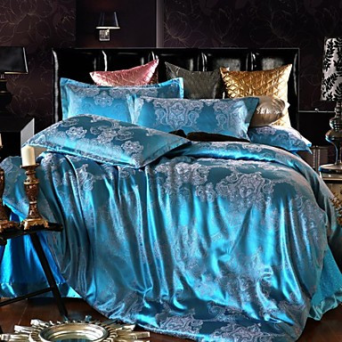 ensembles housse de couette shuian en polyester de. Black Bedroom Furniture Sets. Home Design Ideas