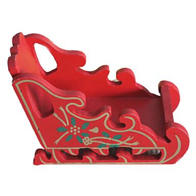 Adornos de navidad de mini trineo de madera 2224918 2016 for Trineo madera decoracion