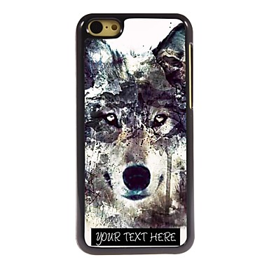 Buy Personalized Phone Case - Iceberg Wolf Design Metal iPhone 5C