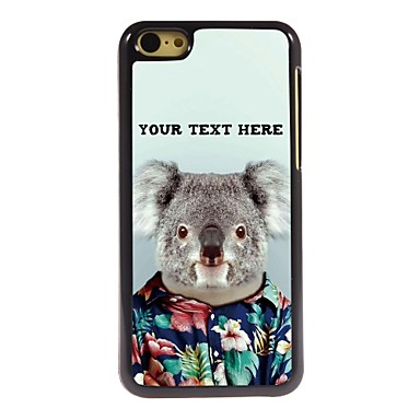 Buy Personalized Phone Case - Koala Design Metal iPhone 5C