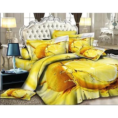 shuian jeu de housse de couette 4 pi ces de costume. Black Bedroom Furniture Sets. Home Design Ideas