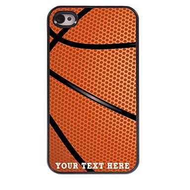 Buy Personalized Phone Case - Basketball Design Metal iPhone 4/4S
