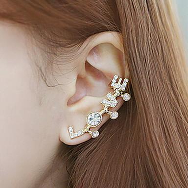 Buy LOVE Letters Diamond Earrings (1 pcs)