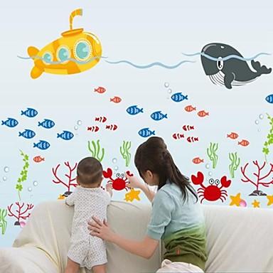 Buy Wall Stickers Decals Marine Animals Style Decorative Sticker