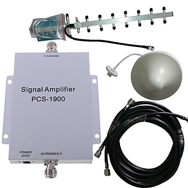 Buy PCS 1900MHZ Cell Phone Signal Booster Amplifier Antenna Kit 500M²