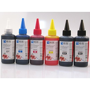 Buy BLOOM® Dye Ink Suitable Canon CISS Refill Cartridge 100ML (6Branch 1 lot)