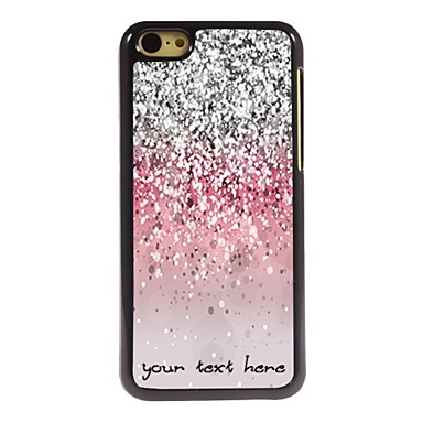Buy Personalized Phone Case - Shimmering Powder Design Metal iPhone 5C