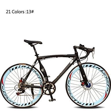 Road Bike Cycling 7 Speed 26 Inch/700CC 60mm Unisex / Men's / Women's SHIMANO TX30 Double Disc Brake Ordinary Monocoque Ordinary/Standard