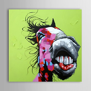 Lgem lde moderne abstrakte pferd hand bemalte leinwand mit gestreckten rahmen 2670616 2017 - Bemalte leinwande ...
