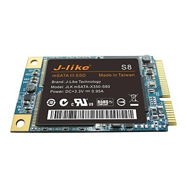 J-Like S8 128GB SSD MSATA for PC Mainboard & Notebook support 1.5Gbps 3Gbps 6Gbps