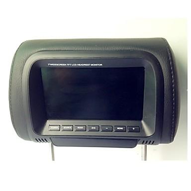 7 Inch TFT LCD Display Digital Screen Car Headrest Monitor