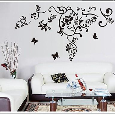 murali Stickers adesivi murali, adesivi murali fiore in pvc del ...