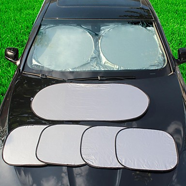 LEBOSH®Automobile Sunshade and Snow Cover 6 piece