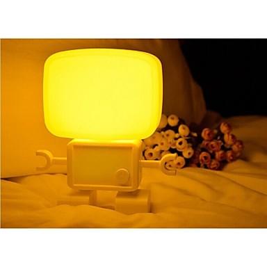 Robot lyd og lys kontrol vågelampe af hoved soveværelse lampe ...