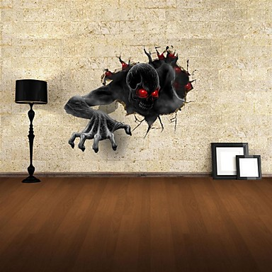 3d wall stickers wall decals the devil decor vinyl wall for 3d wall decoration stickers