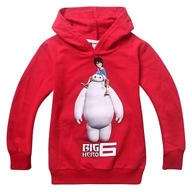 Buy Cosplay Costumes Super Heroes Movie Red Print Hoodie Halloween / Christmas New Year Kid Cotton