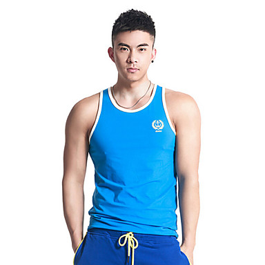 Men's Running Tops Fitness / Racing / Leisure Sports / Running Breathable / Quick Dry / WearableYellow / White / Green / Gray / Black /