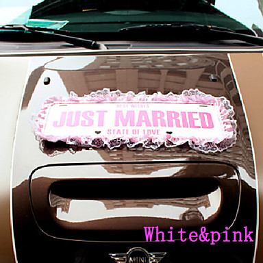Just married wedding car decorations 2071052 2016 for Just married dekoration