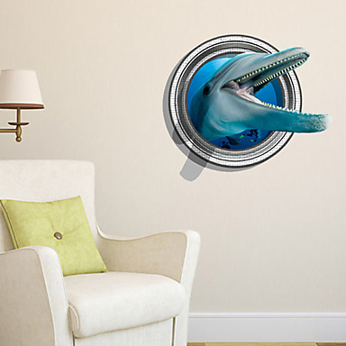 3d decalcomanie adesivi murali della parete, arredo bagno ...