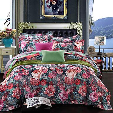 antibact rien coton respirant fibre de bambou tissu literie quatre pi ces de 3169495 2017. Black Bedroom Furniture Sets. Home Design Ideas
