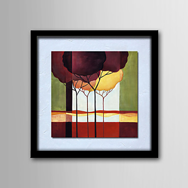 pitture a olio un pannello astratta moderna di paesaggio tele dipinte a mano pronta per essere ...