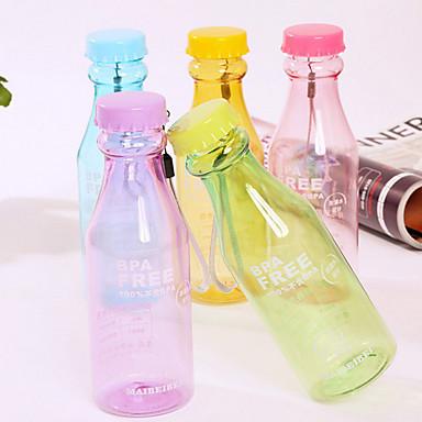 Buy 550ML Reusable Unbreakable Soda Water Bottle Leakproof Sport Cycling (Random Color)