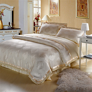 Buy Yuxin®Silk Jacquard Cotton Quilt Bedding Family Four 1.5M-1.8M Bed General