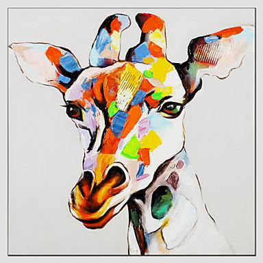 Peint La Main Animalmodern Style Europ En Un Panneau Toile Peinture L 39 Huile Hang Peint For