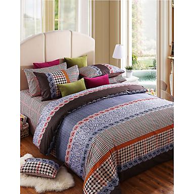 100% Cotton The Duke of Windsor 4 Pieces Bedding Set