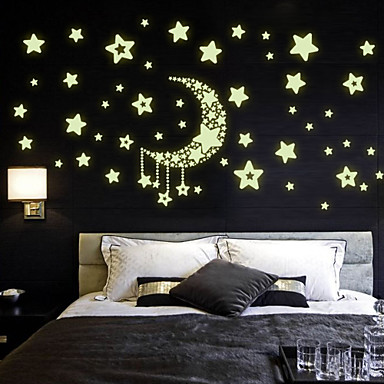 Http Www Lightinthebox Com Amazing Fluorescence Glow In Dark Luminous Cartoon Moon Star Nursery Baby Room Home Decor Wall Stickers For Kids P4811971 Html
