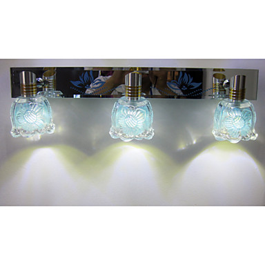 Illuminazione bagno LED/Lampadina inclusa Moderno/contemporaneo Acciaio inoss...