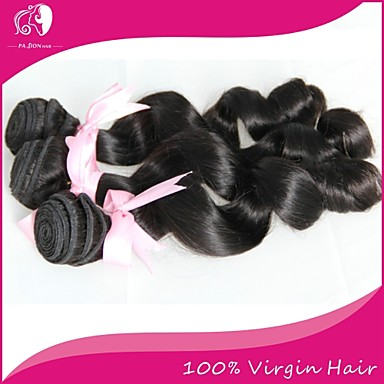 Buy Brazilian Virgin Hair 100% Remy Loose Wave 8 inch-30 inchHuman Extensions Natural Color
