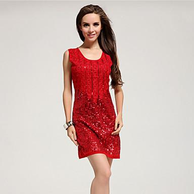 Robes bleu rouge paill t spectacle tenues pour for Maison rouge boite de nuit