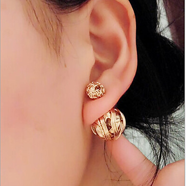 """""""New Arrival Hot Selling High Quality Hollow Ball Earrings"""""""