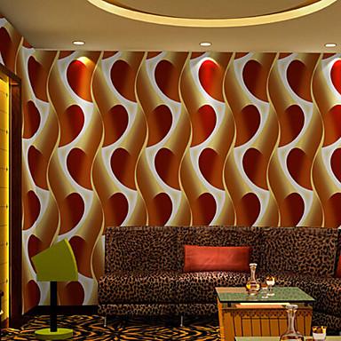 nouvelle rainbow bande de papier peint contemporain abstrait mur de papier peint 3d rayures. Black Bedroom Furniture Sets. Home Design Ideas