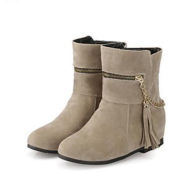 Zapatos de mujer tac n plano botas de equitaci n - Zapatos de trabajo ...
