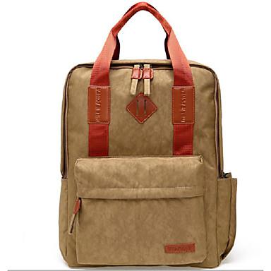 Buy TINYAT 14 15.6 Inch Nylon Computer Backpack School Student Men Women Laptop Bag Handbag T802 Brown