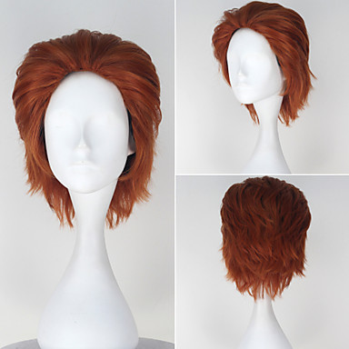 Buy HUNTER×HUNTER Hisoka Men's Short Straight Auburn Color Anime Cosplay Full Wig