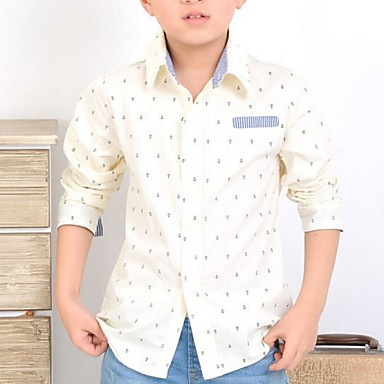 Boy's Cotton Shirt,All Seasons Print