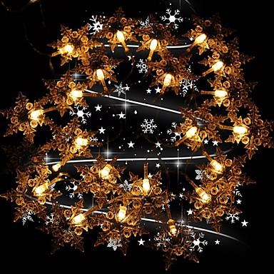 Christmas Snowflake Lights Led Solar Outdoor Decoration