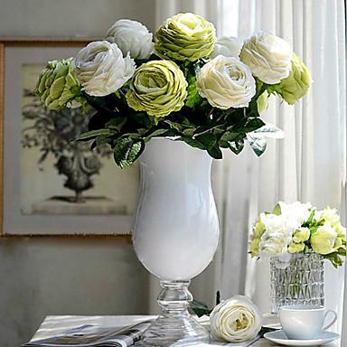Buy European Rose Silk Cloth Artificial Flower Home Decoration(5Piece)