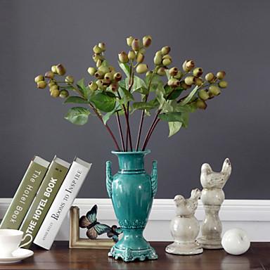 Interior decoration flower art plastic plants artificial for Artificial plants for interior decoration