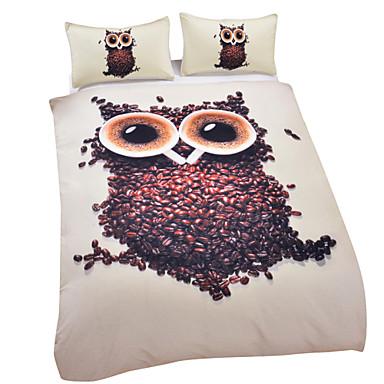 Buy Owl Duvet Cover Set 3D Bedding Twin Full Queen King